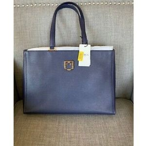 NWT Furla Belvedere Leather Tote B BVD4 Q26 $378